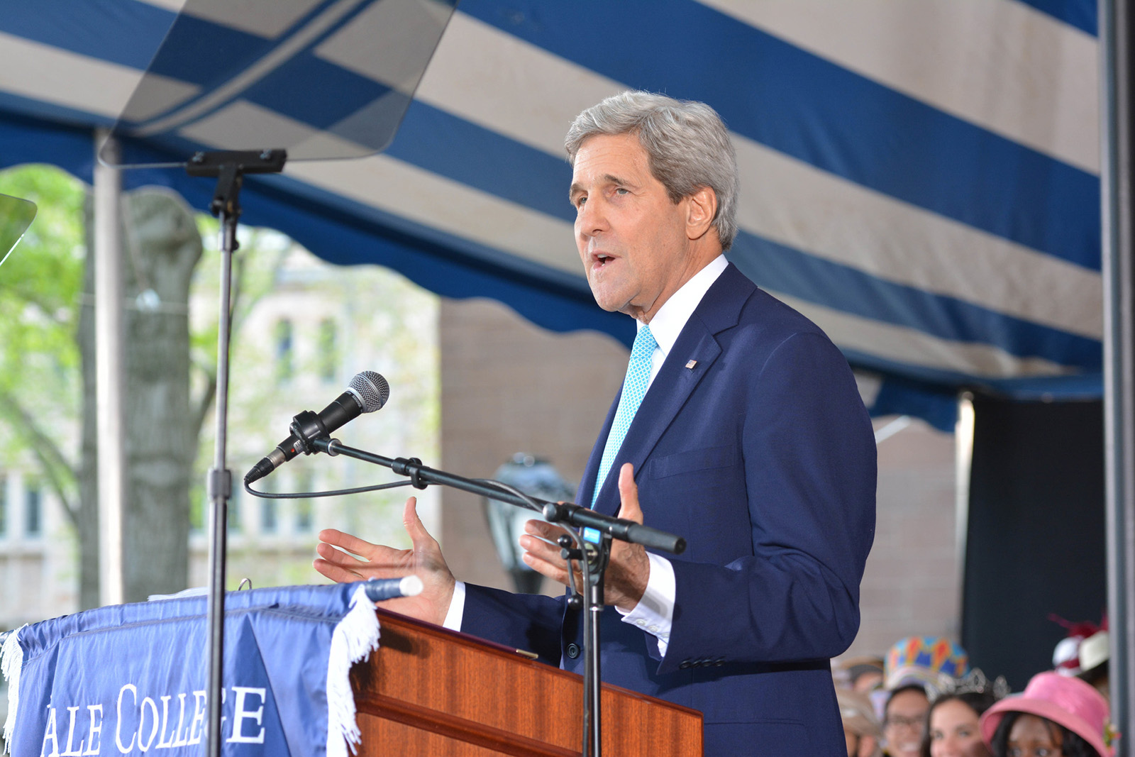 Secretary John Kerry joins Yale as Distinguished Fellow for Global Affairs