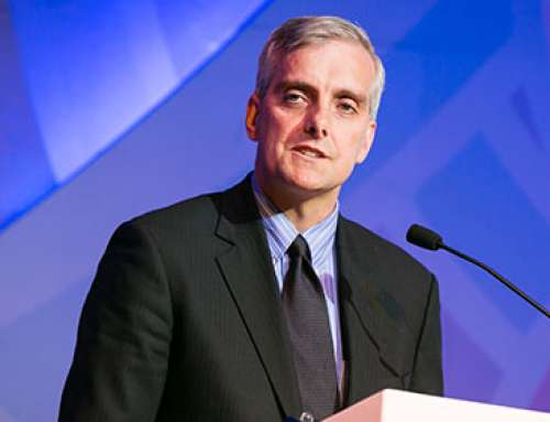 Former White House Chief of Staff Denis McDonough visits the Ford School