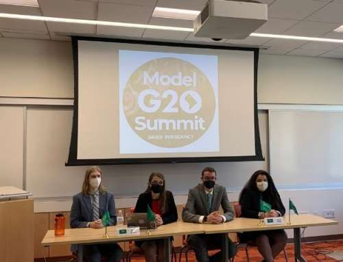 SIS's Model G20 Summit Adapts to the COVID-19 Pandemic